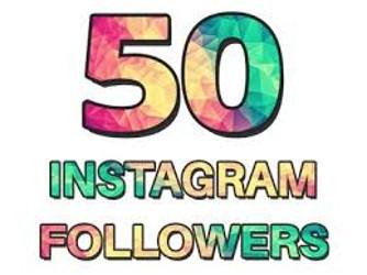 50 Instgram Followers