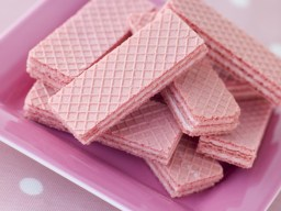 Pink Panther wafer biscuits
