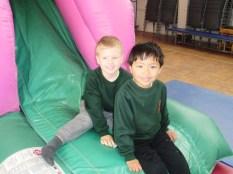 Bouncy castle- Health weeBouncy castle- Health week