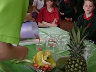 Fruit Tasting Health Week in May