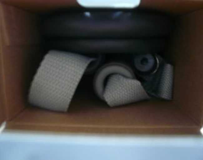 箱に入っているLa・VIE(ラ・ヴィ) フィットネスチューブ スーパーハード