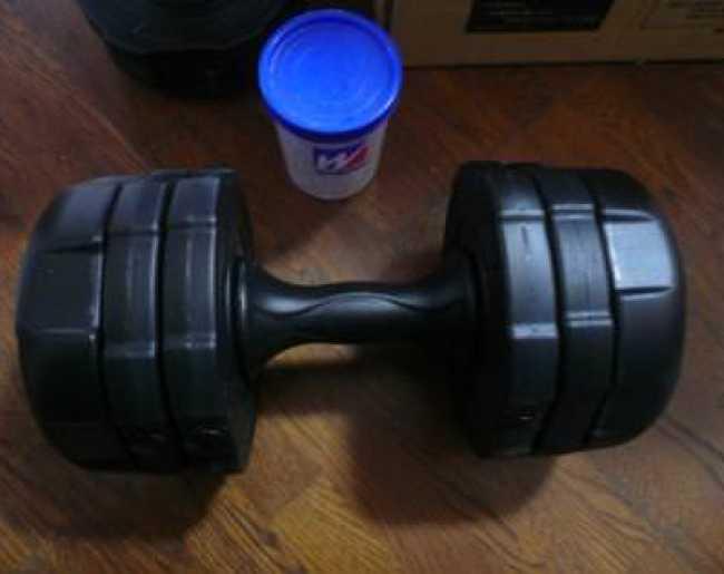 アーミーダンベル10kgの比較画像