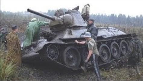 огнеметный танк ОТ-34/76