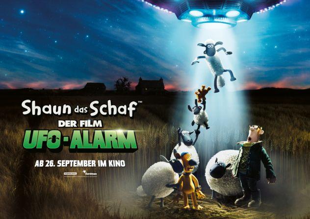 Shaun das Schaf . UFO-Alarm