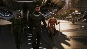 Black Panther, Nakia and Okoye