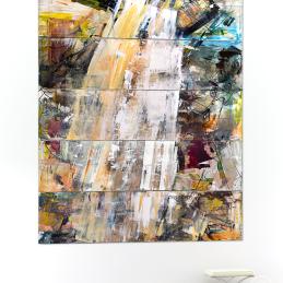Blancs 12345 (exhibit) [200 x 250cm] © Prosper Jerominus, 2013