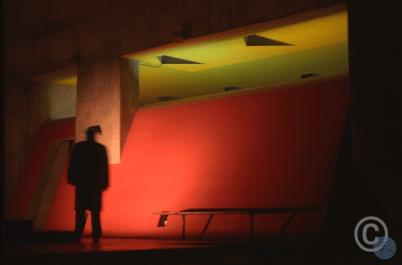 Couvent de la Tourette Visite # 04 Le Corbusier architect Visiting with Bernard Huet © Jerominus 1996