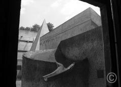 Sainte Marie de La Tourette no2 Dominican Orderpriory, Lyon, France Le Corbusier and Iannis Xenakis architects 1956 - 1960 © Jerominus 1996