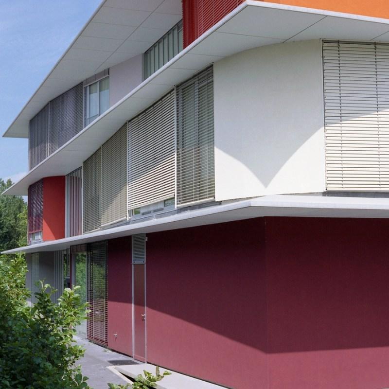 Ronald McDonald House Utrecht Bosch Haslet architects (1998) The Netherlands © Prosper Jerominus, 2002