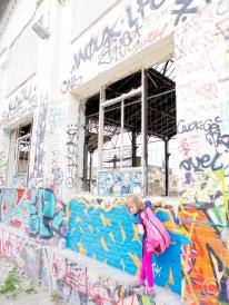 Urban Spree Wall © Prosper Jerominus 2014