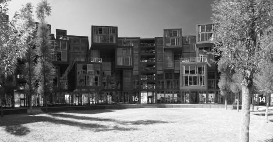 Tietgenkollegiet Student Housing - 18-16-14, Copenhagen DK Lundgaard & Tranberg architects 2005 © Prosper Jerominus 2018