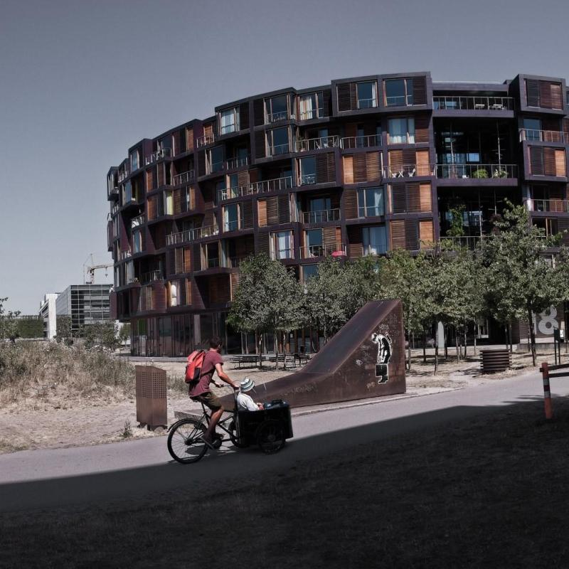 Grand-mother - Tietgenkollegiet Student Housing, Copenhagen Lundgaard & Tranberg architects 2005 © Prosper Jerominus 2018