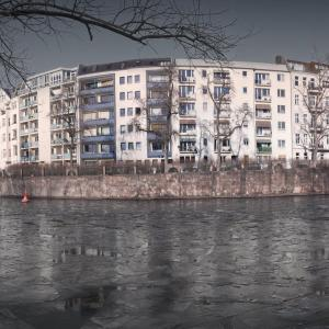 Spree in Ice Charlottenburg Berlin © Prosper Jerominus 2018