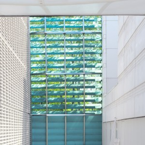 Light curtain. Nordic Embassy Berlin