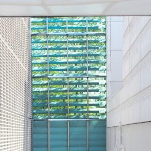 Light curtain. Nordic Embassy Berlin
