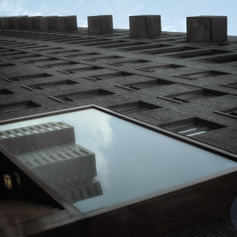 Piraeus building Amsterdam - Transparent Facade - KNSM-Eiland/ KNSM Island Amsterdam