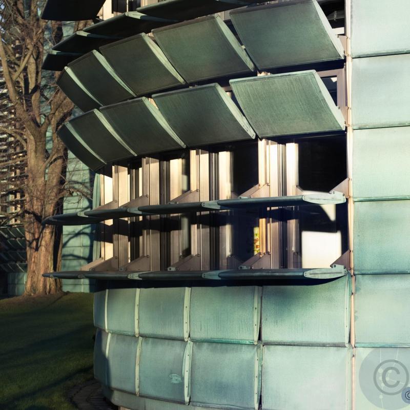 Facade openings Nordic Embassy Berlin Berger + Parkkinen Architects 1995