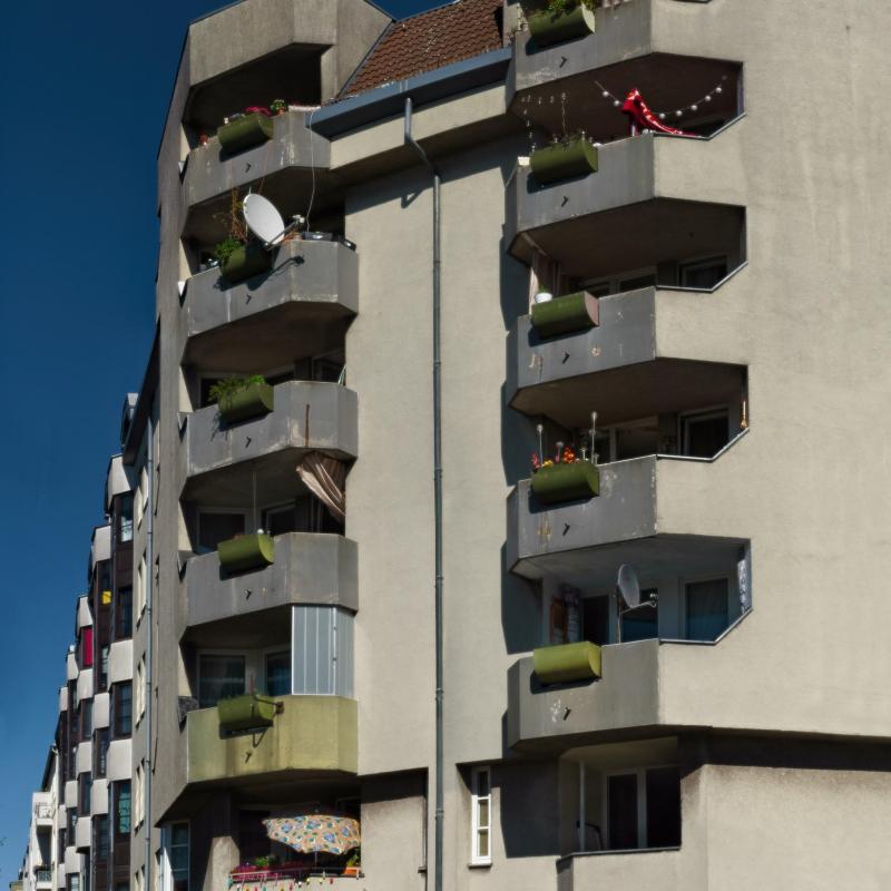 Balcony in()sanity - Happy balconies - La passion des balcons - Corner - Berlin
