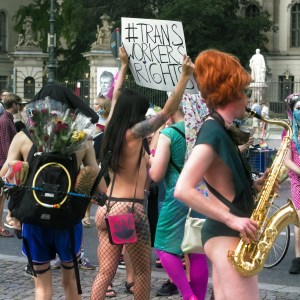 Humboldt watching - #Trans workers Rights Pride Parade Berlin 2020