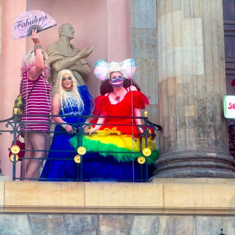 Fabulous - Solidarność Transsexuellen-Gesetz jetzt abschaffen! Pride Parade Berlin 2020 Stiftung Berliner Schloss - H