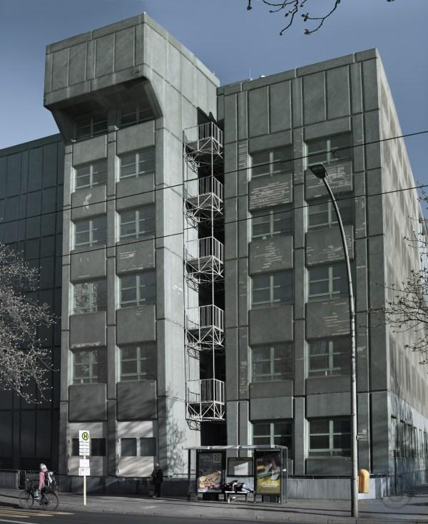 Research Institute LLBB Berlin - Legacy #3 - Sleep - Landeslabor Berlin-Brandenburg, Moabit Berlin