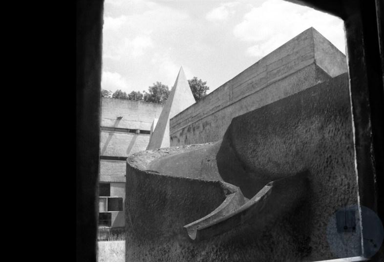 Print: La Pyramide de Corbu #2 Limited edition (1-20) Le Corbusier architect - Couvent de la Tourette France 1953-1961 © Prosper Jerominus 2021