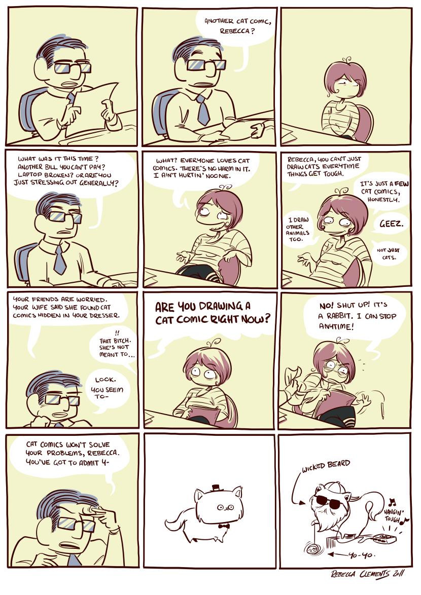 042 Cat Comics