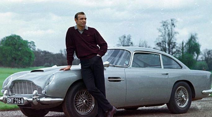 Najdroższe rekwizyty filmowe - Aston Martin DB James Bond