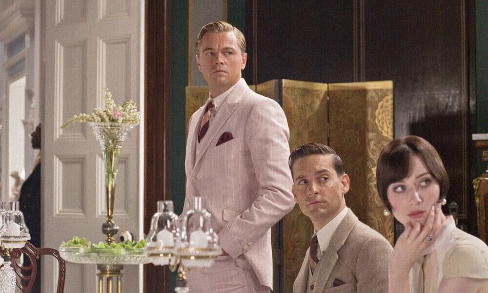 Bogate wnętrza zfilmu Wielki Gatsby