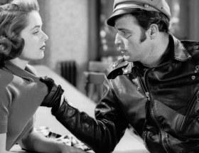 """Marlon Brando w skórzanej kurtce z filmu dla buntowników """"Dziki"""""""