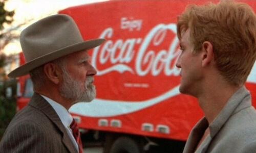 Dziecko Coca coli product placement