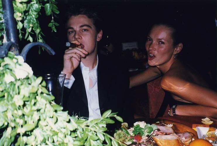 Leonardo DiCaprio iKate Moss