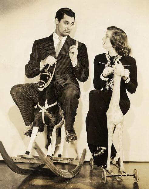 Cary Grant iKatherine Hepburn