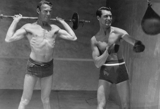 Cary Grant iRandolph Scott