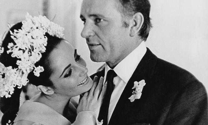Elizabeth Taylor iRichard Burton (1964). Gwiazdy Hollywood znajwiększą liczbą małżeństw nakoncie.