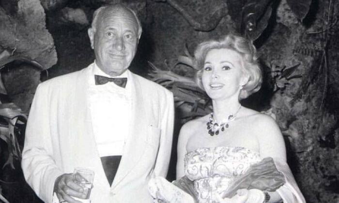 Zsa Zsa Gábor iConrad Hilton (1942). Gwiazdy Hollywood znajwiększa liczbą małżeństw.
