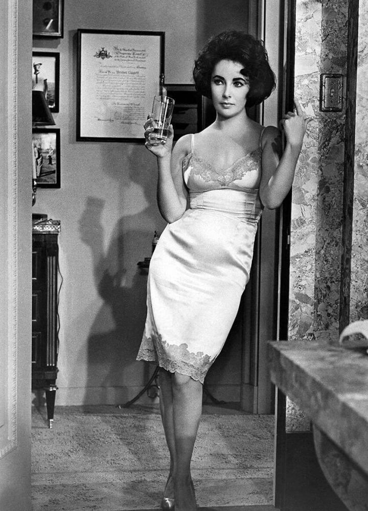 Elizabeth Taylor woscarowej roli prostytutki wButterfield 8