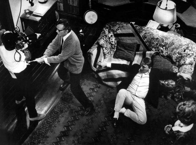 Richard Burton kto się bi Virginii Woolf - zbliżenia
