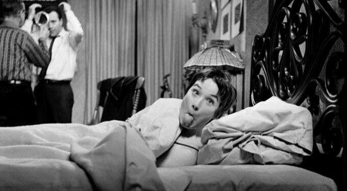 Shirley MacLaine naplanie Garsoniery (1960)