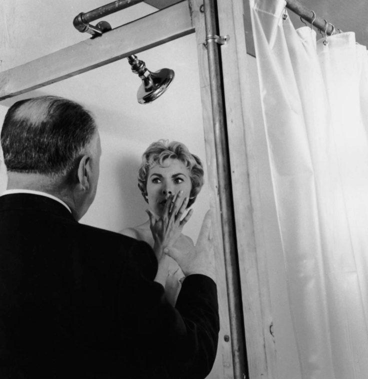 Janet Leigh iAlfred Hitchcock naplanie Psychozy