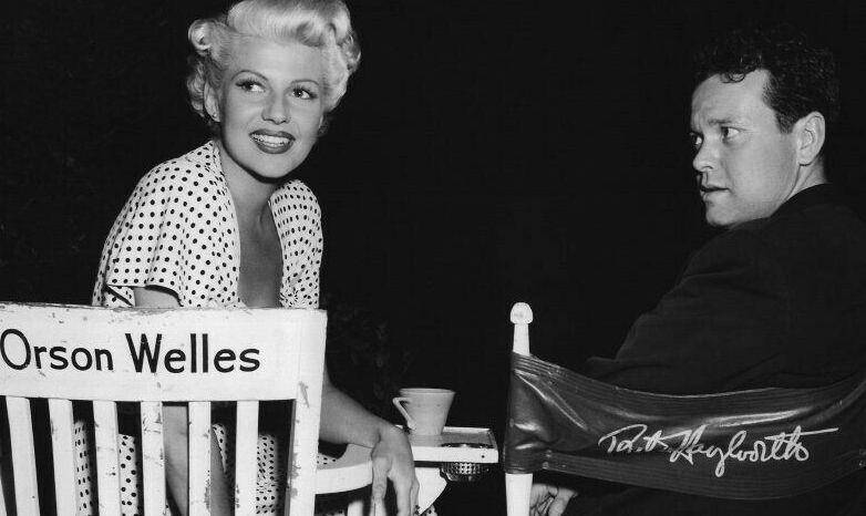 Rita Hayworth iOrson Welles uschyłku małżeństwa.