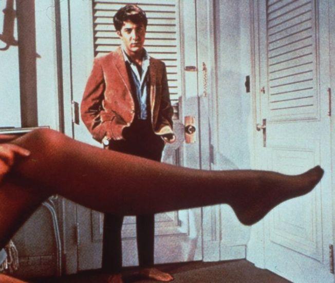 Absolwent - Dustin Hoffman ipani Robinson