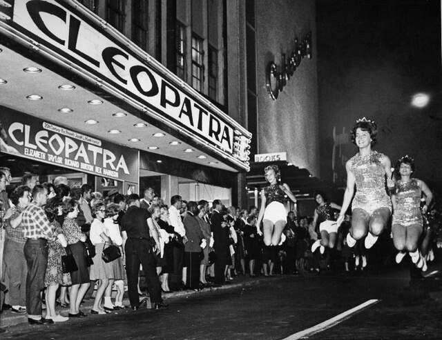 Premiera filmu Kleopatra 1963