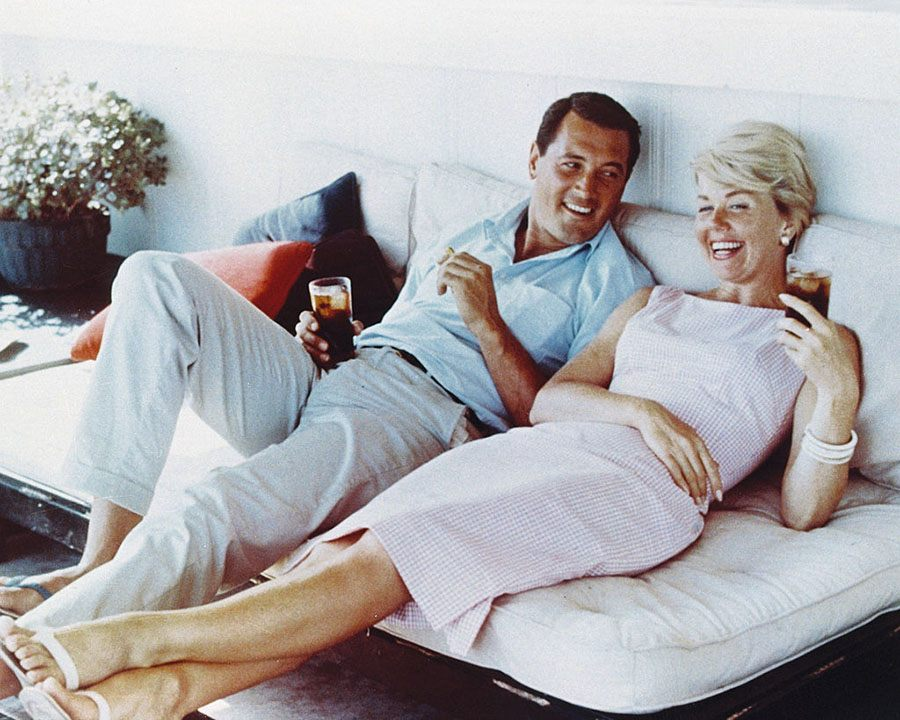 Rock Hudson i Doris Day