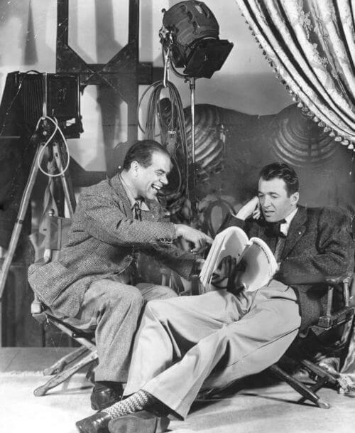 James Stewart iFrank Capra naplanie towspaniałe życie