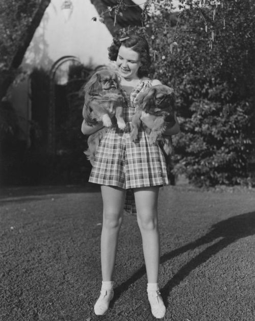 Judy Garland jako nastolatka