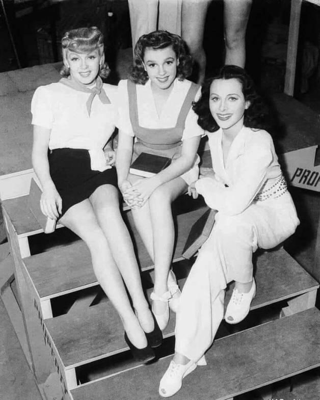 Lana Turner, Judy Garland iHedy Lamarr