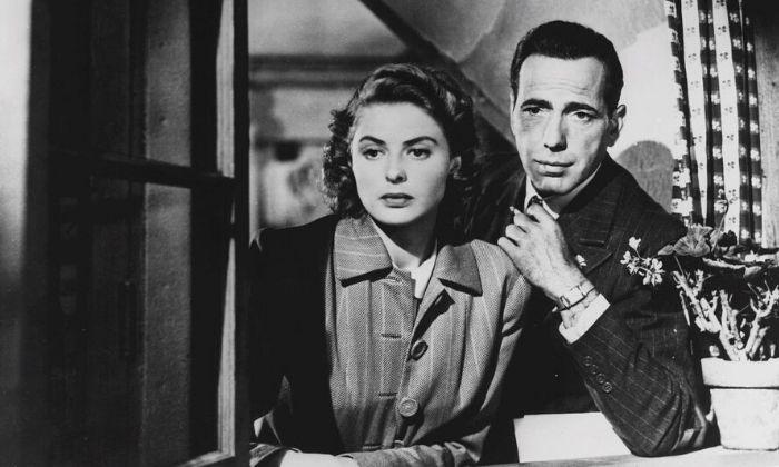 Casablanca - stary dobry film omiłości