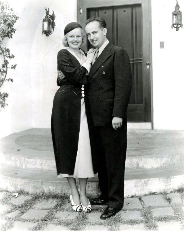 Jean Harlow idrugi mąż Paul Bern
