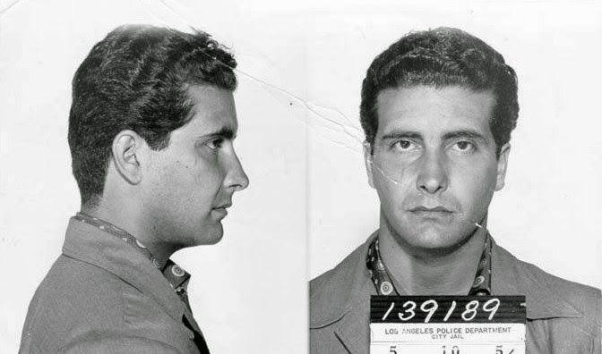 Johnny Stompanato - zdjęcia policyjne